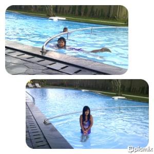 kolam renang aston